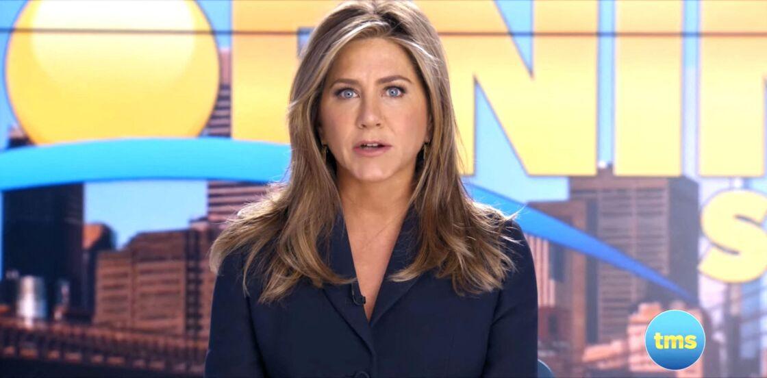Jennifer Aniston dans la série The Morning Show, diffusée sur Apple TV+.