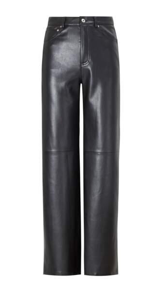 Pantalon en cuir, 49€99, Mango