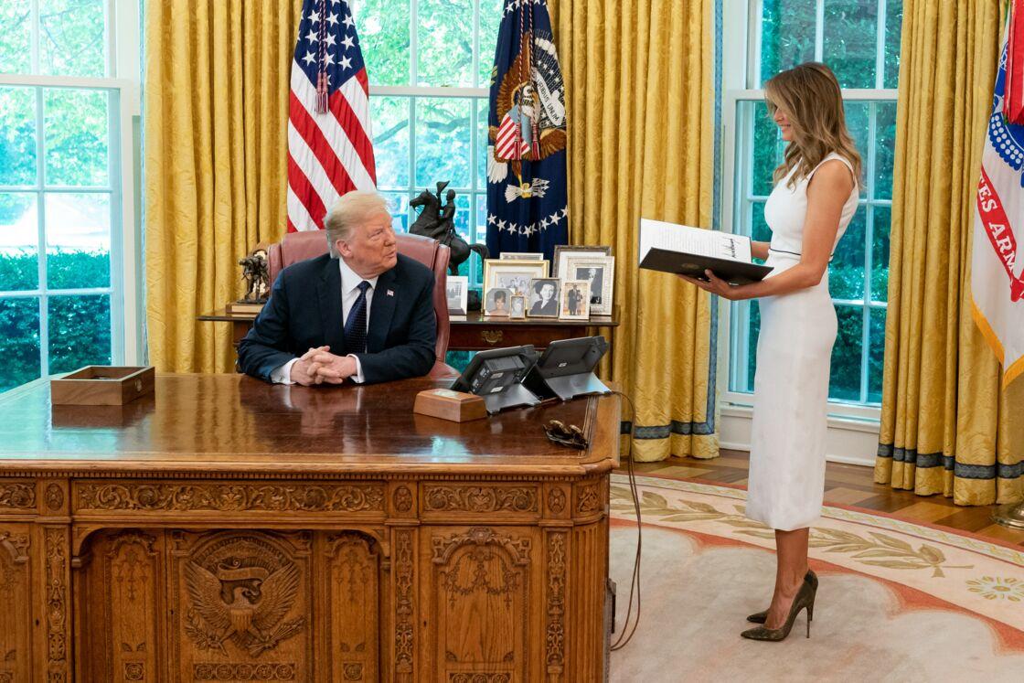 Si elle accompagne son époux sur différents sujets, Melania Trump n'a pas signé pour une vie à la Maison Blanche.