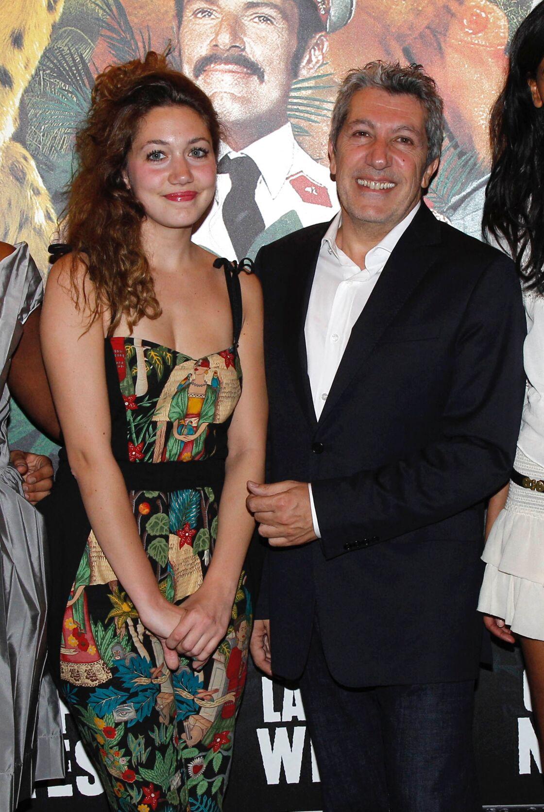 Alain Chabat et sa fille Louise à l'avant-première du film
