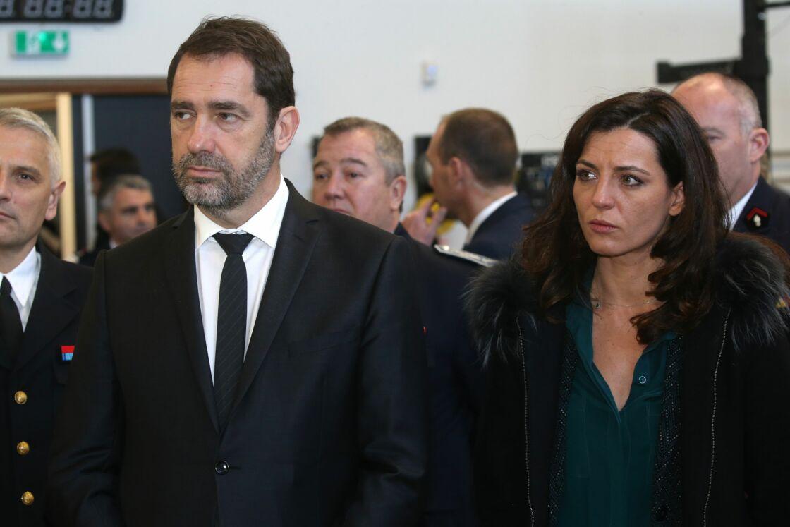 Christophe Castaner et Coralie Dubost, à Montpellier, le 4 février 2019.