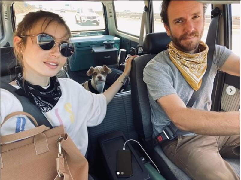 Lily Collins et son amoureux Charlie McDowell se sont fiancés
