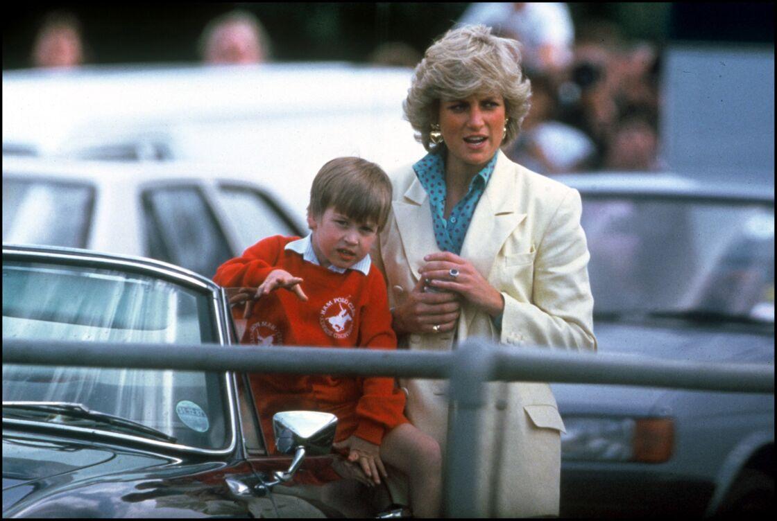 Diana et le prince William