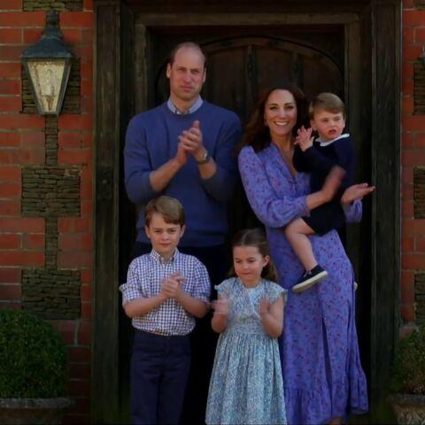 Kate Middleton et le prince William: les premiers mots face caméra de George, Charlotte et Louis