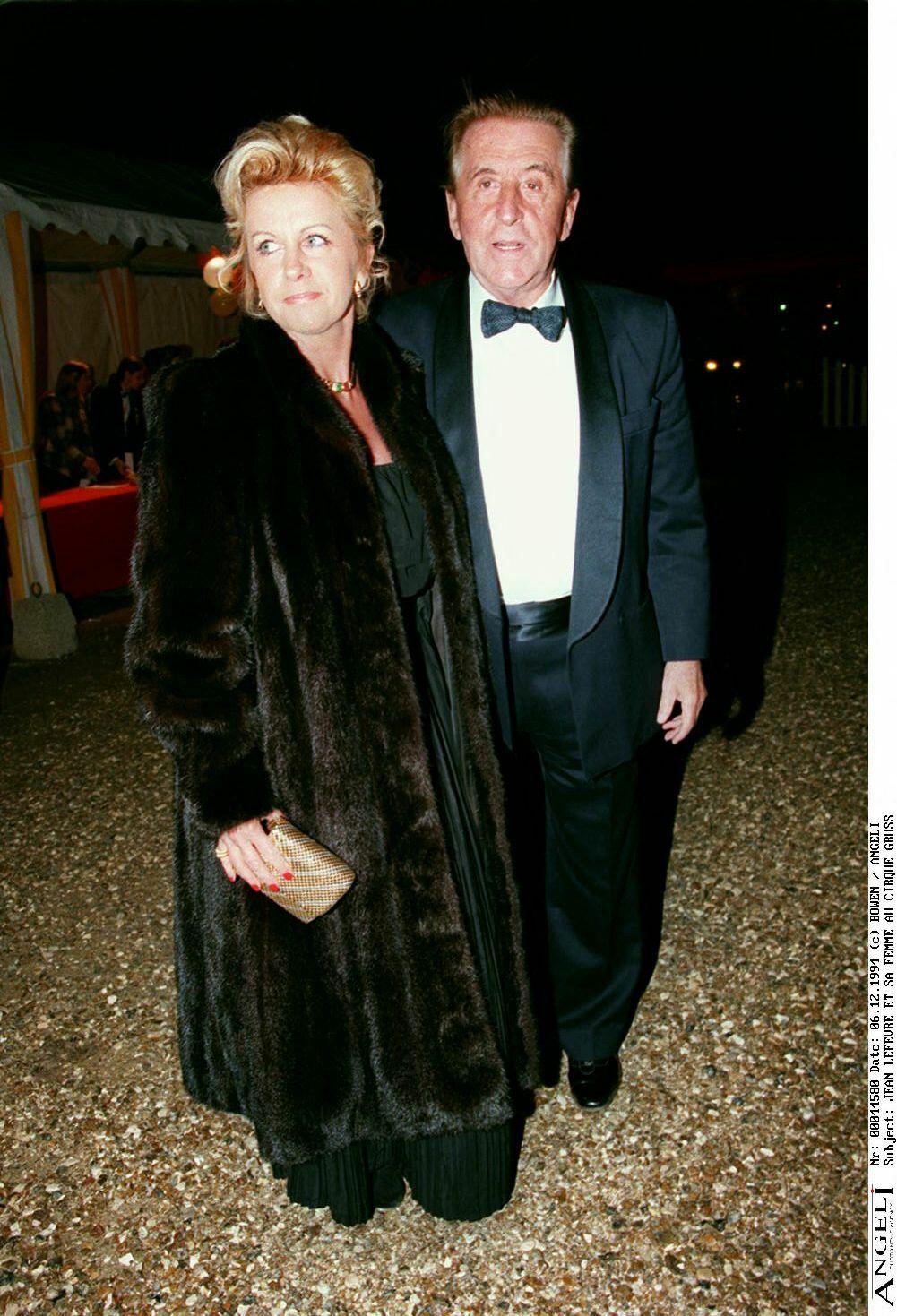 Jean Lefebvre et Brigitte Lerebours