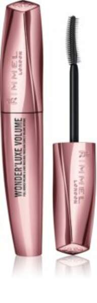 Mascara Wonder'Luxe Volum, Rimmel, 10,45€