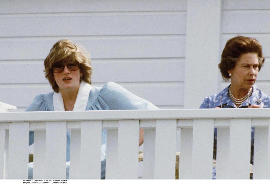 Diana et Elizabeth II