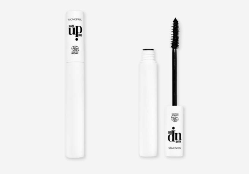 Mascara Make Up Bio, Monoprix, 9,99€