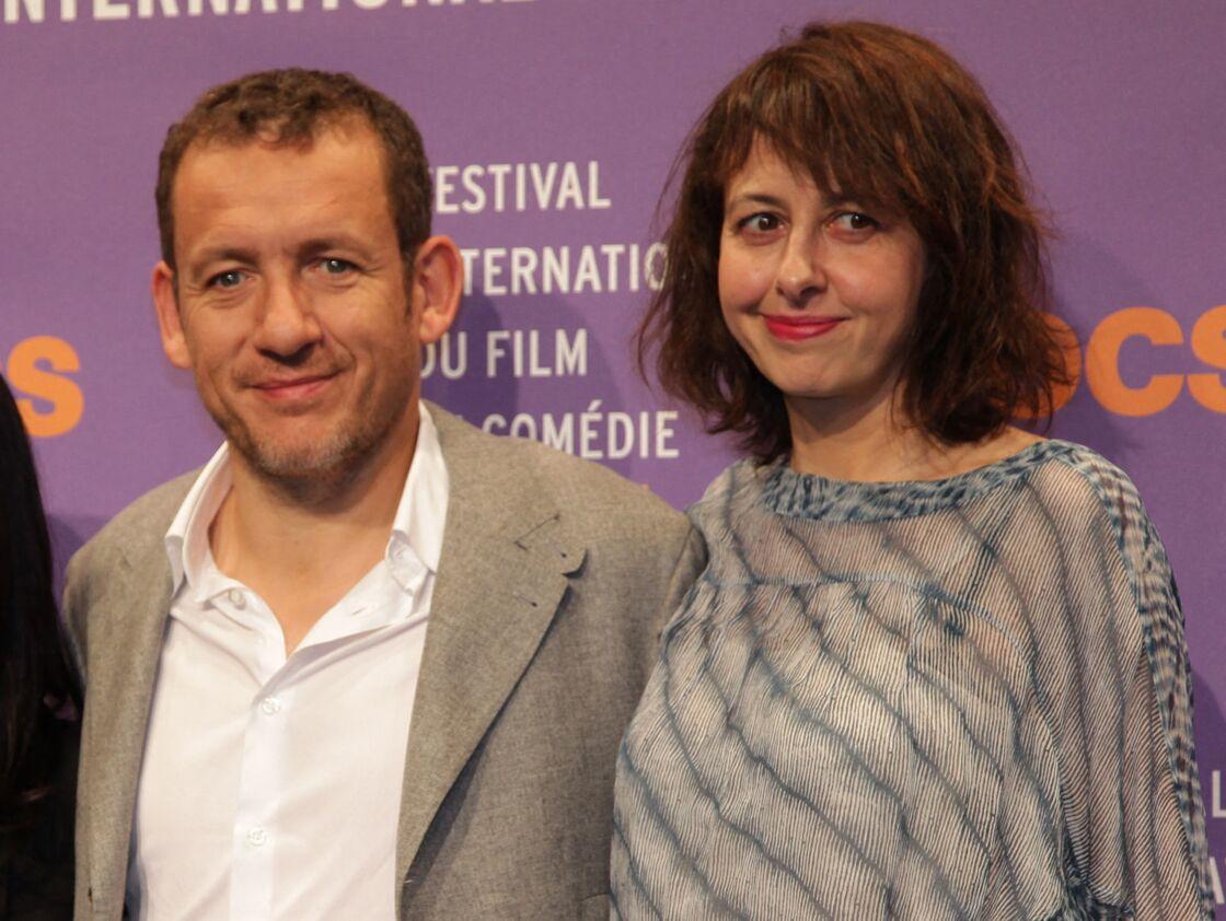 Dany Boon et Valerie Bonneton - Photocall lors du 17eme Festival International du film de comedie en Isere a l'Alpe d'Huez le 15 janvier 2014.
