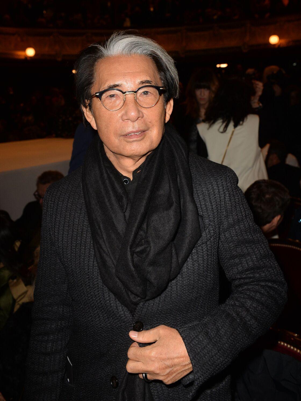 Kenzo Takada - Front row du défilé de mode Haute-Couture printemps-été 2020