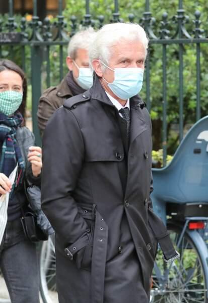 Le journaliste Claude Sérillon s'est rendu à l'église Saint-Germain-des-Prés pour les obsèques de Juliette Gréco
