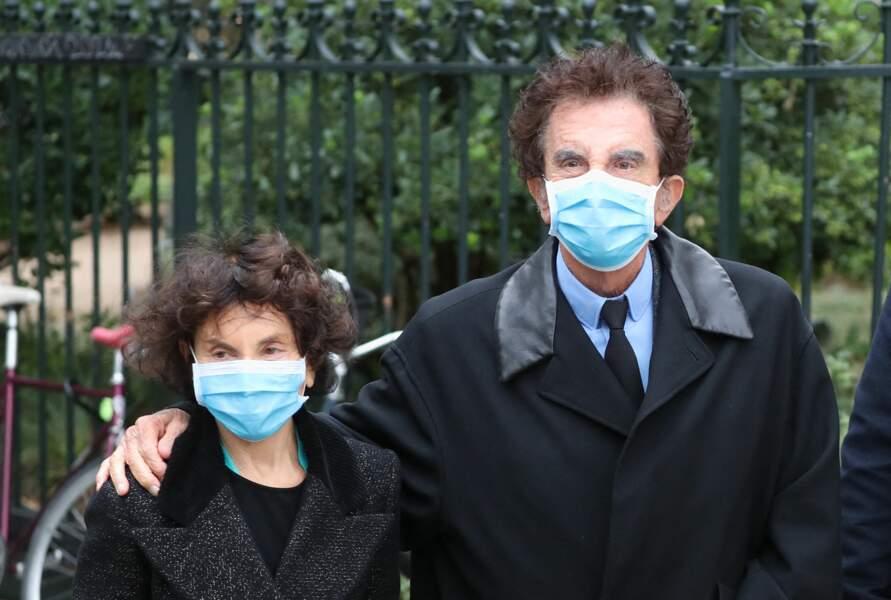 Jack Lang et sa femme Monique ont été aperçus aux obsèques de Juliette Gréco