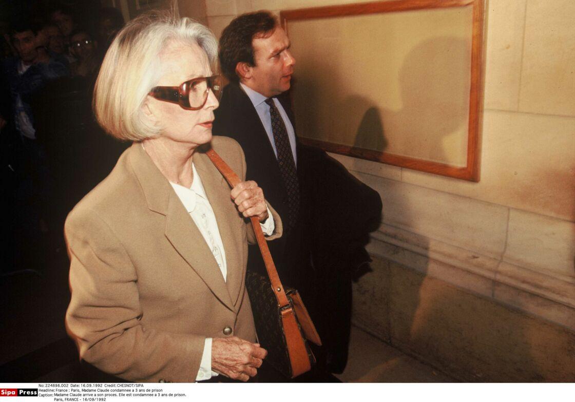 Madame Claude, lors de son procès en 1992.