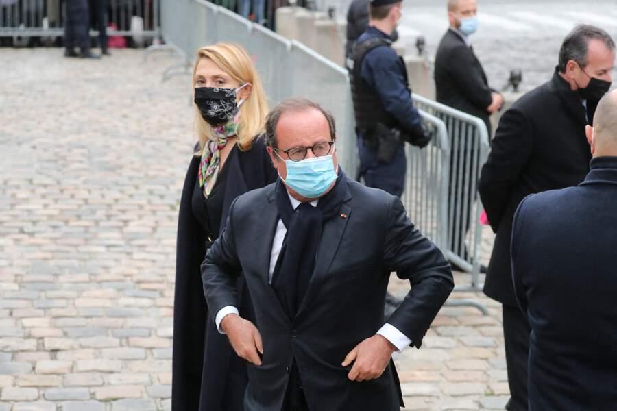 Julie Gayet et François Hollande étaient tous les deux présents aux obsèques de Juliette Gréco