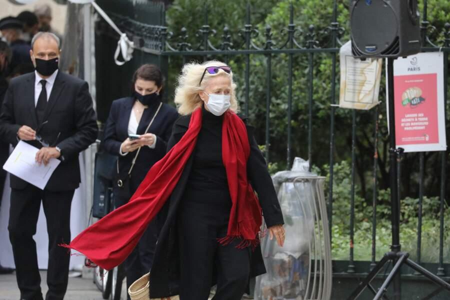 Brigitte Fossey avait également fait le déplacement pour les obsèques de Juliette Gréco