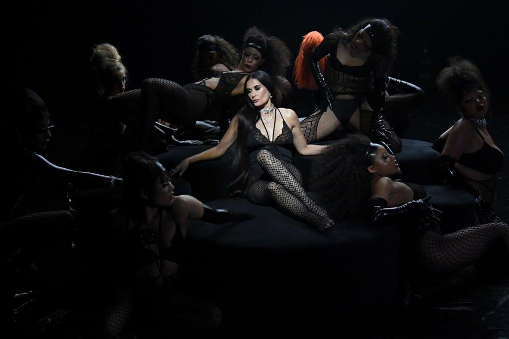 Demi Moore, toujours aussi sexy à 57 ans, comptait parmi les guest-stars du dernier défilé Savage X Fenty.