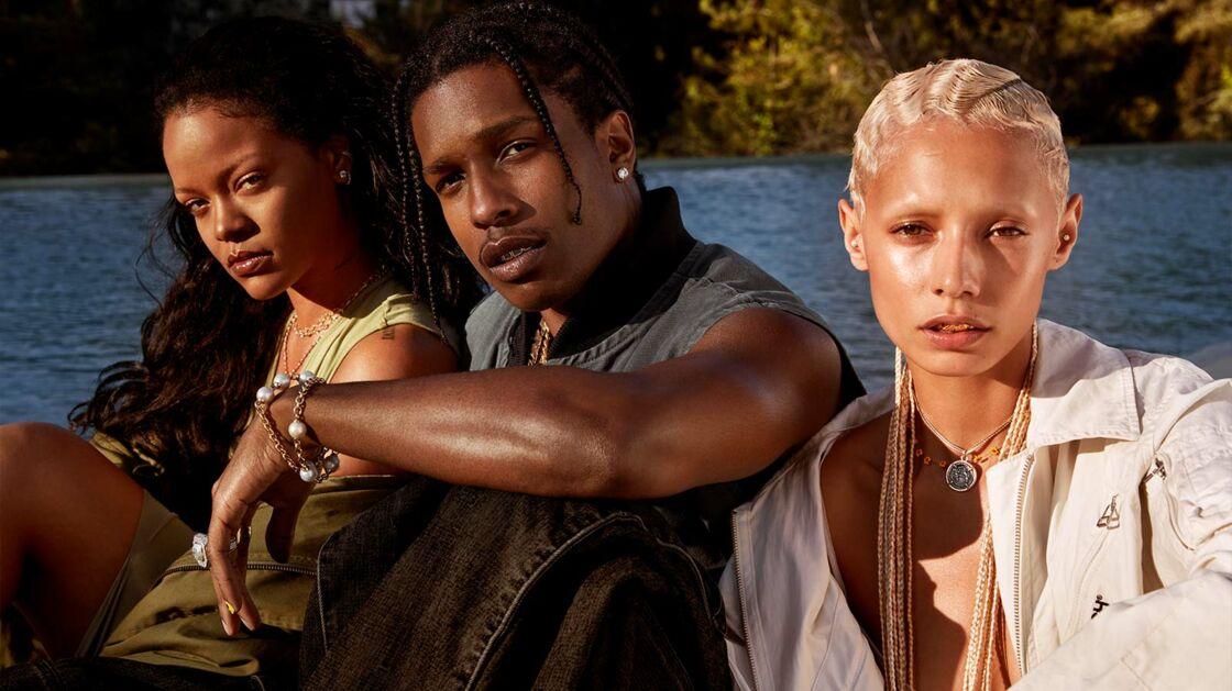 La première campagne de Fenty Skin avec le rappeur A$AP Rocky