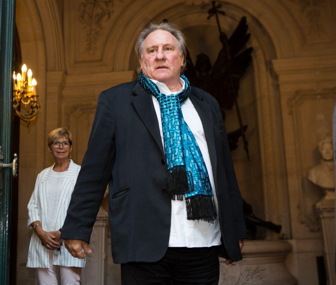 En septembre dernier, dans TPMP, Gérard Depardieu estimait qu'Emmanuel Macron et lui n'étaient pas