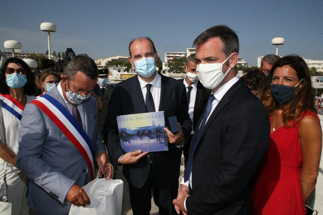 Jean Castex, Olivier Véran et Coralie Dubost