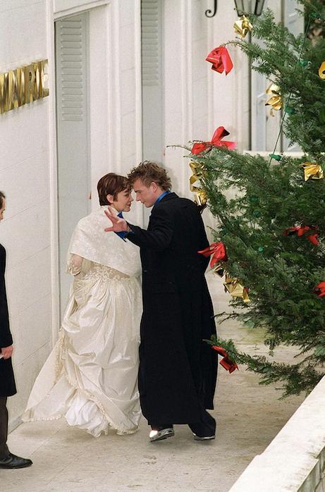 Mariage du couple en 1999