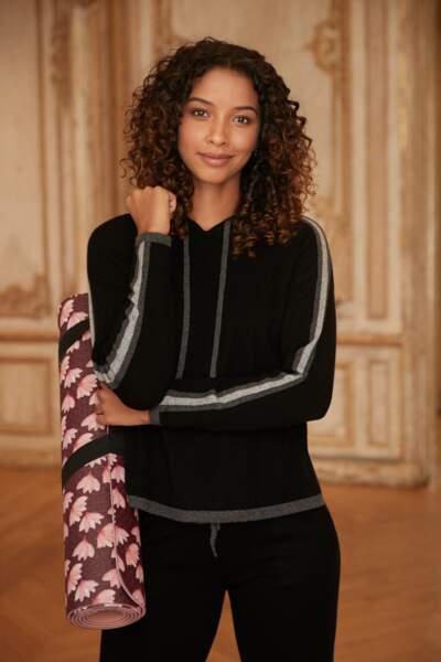 Sweat en laine et cachemire rituel, 99€, Maison 123 Paris