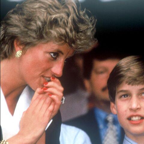 Le prince William, les yeux rougis après cette interview de Diana: un traumatisme?