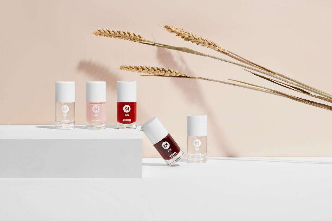 Colorés, naturels et doux pour les ongles fragiles des femmes, malades ou non (vVernis Même, 9,50 € pièce sur memecosmetics.fr)