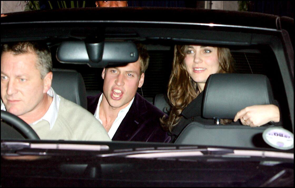 Kate et William profitent de leur idylle naissante dans les années 2000