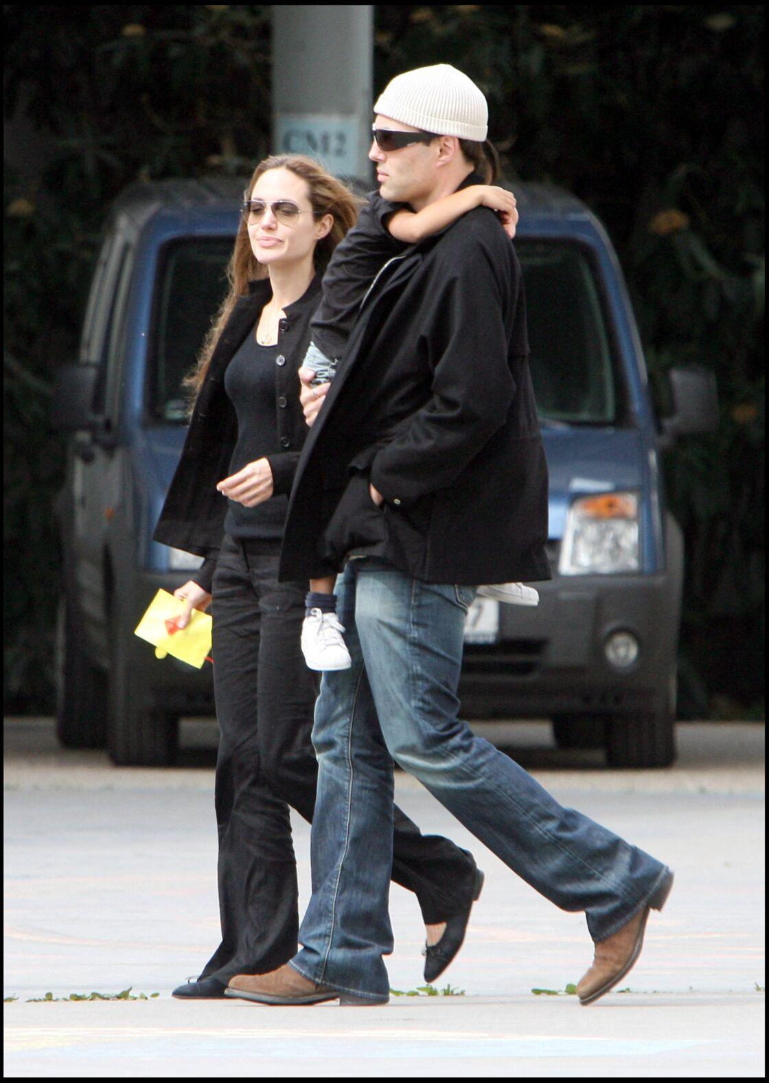 Angelina Jolie et James Haven en 2007
