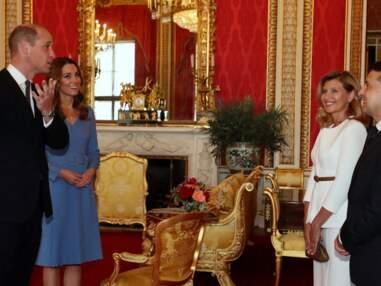 PHOTOS - Kate Middleton et William de retour à Buckingham