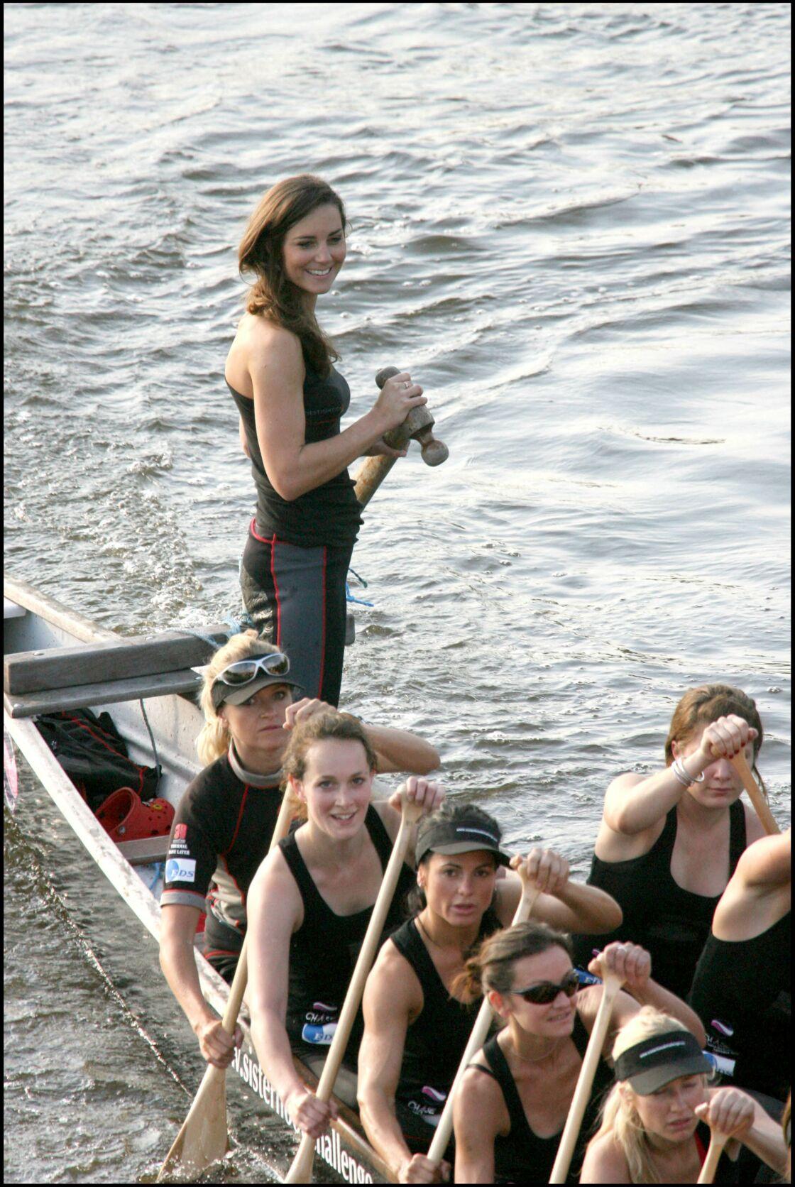 Sur la Tamise, Kate Middleton met en avant ses atouts en 2007