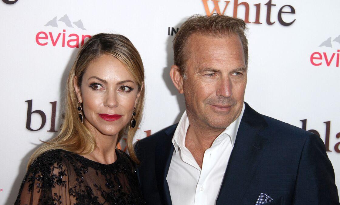 Kevin Costner et son épouse, Christine Baumgartner