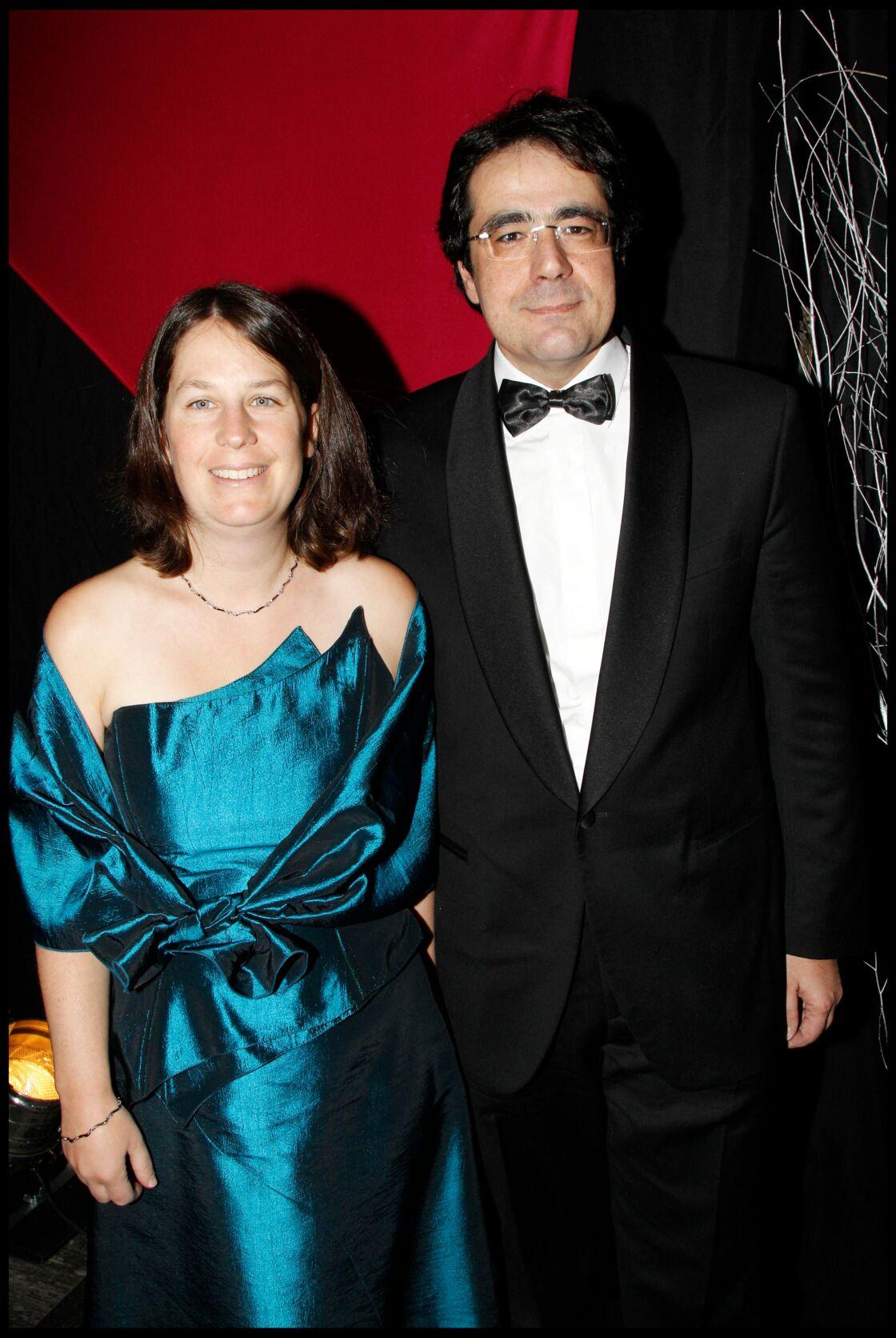 Darius Rochebin et sa femme Marie