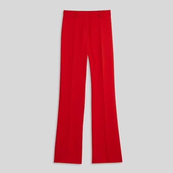 Pantalon de tailleur jambes larges, 49,99 €, Monoprix
