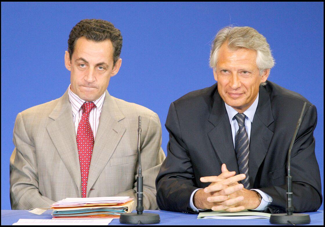 En 2005, Nicolas Sarkozy deviendra ministre de l'Intérieur sous Villepin