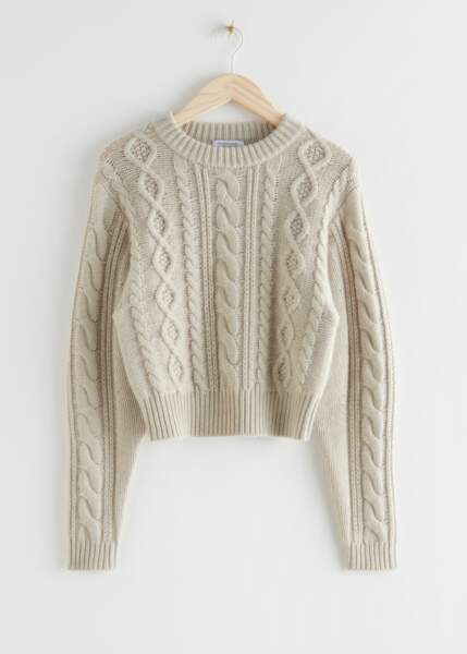 &OTHER STORIES - Pull en laine, 69€