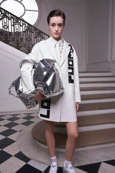 Le sac maxi Argent de Longchamp été 2021