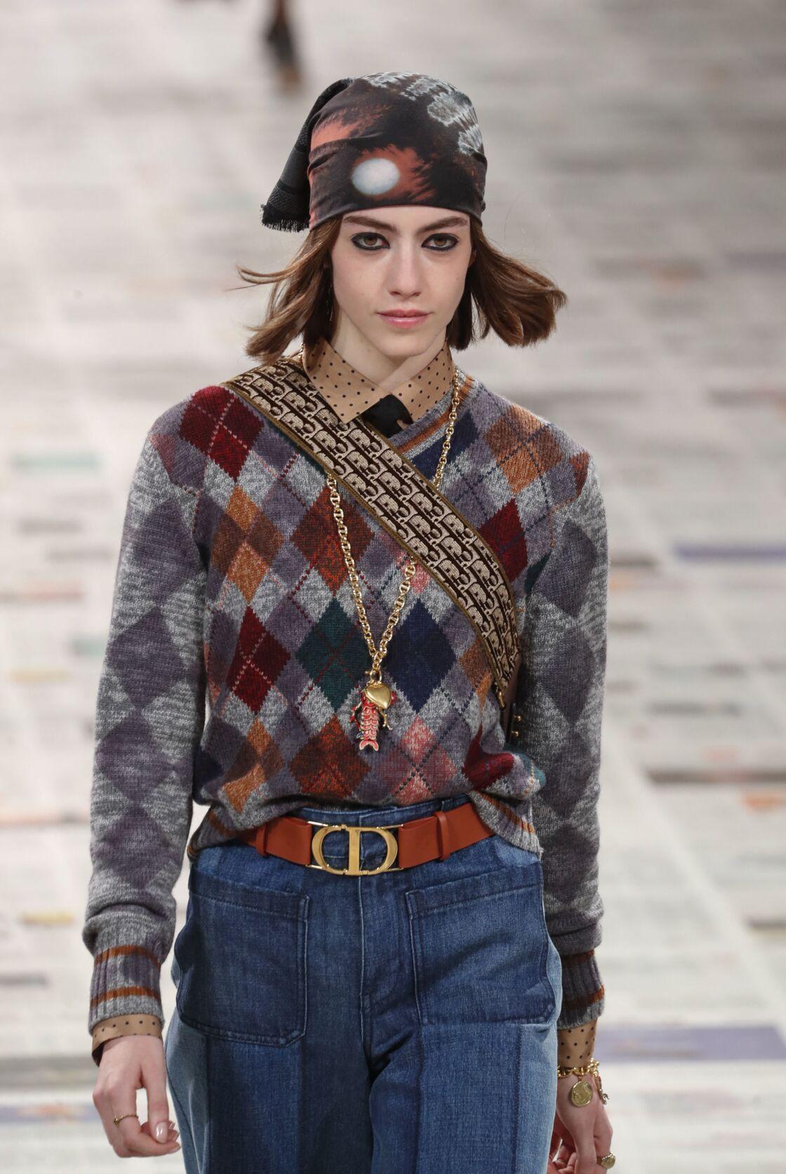 Le pull sans manches, star des podiums, ici chez Dior