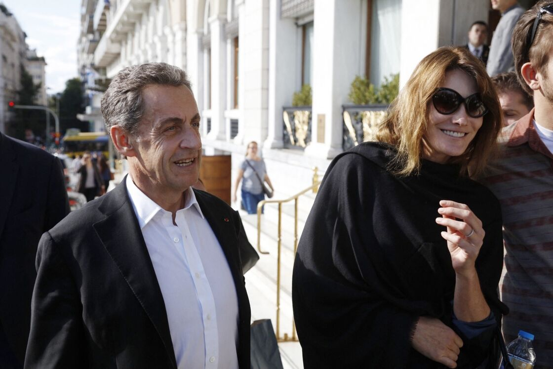 12 ans d'amour unissent Carla Bruni et Nicolas Sarkozy
