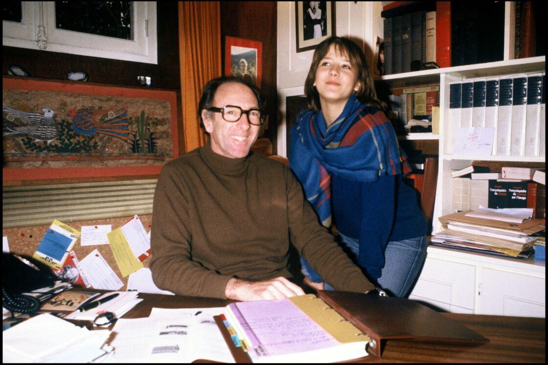 Claude Pinoteau et Sophie Marceau