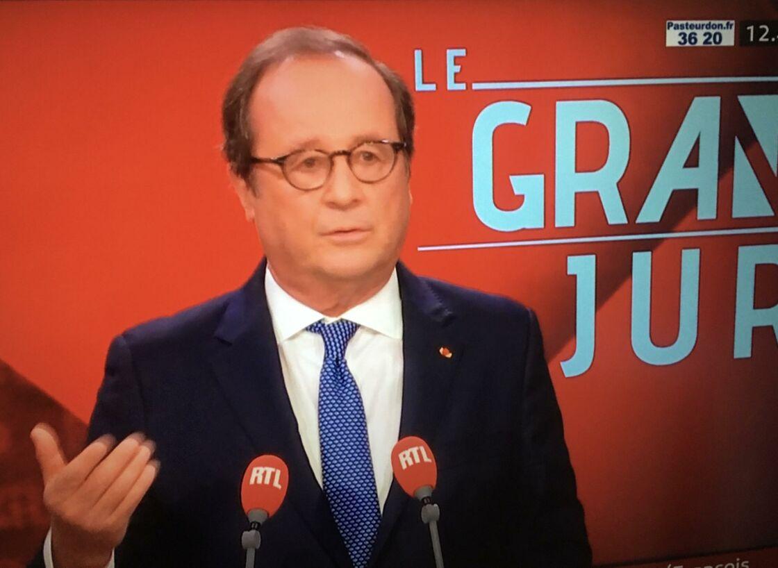 François Hollande dans le Grand Jury