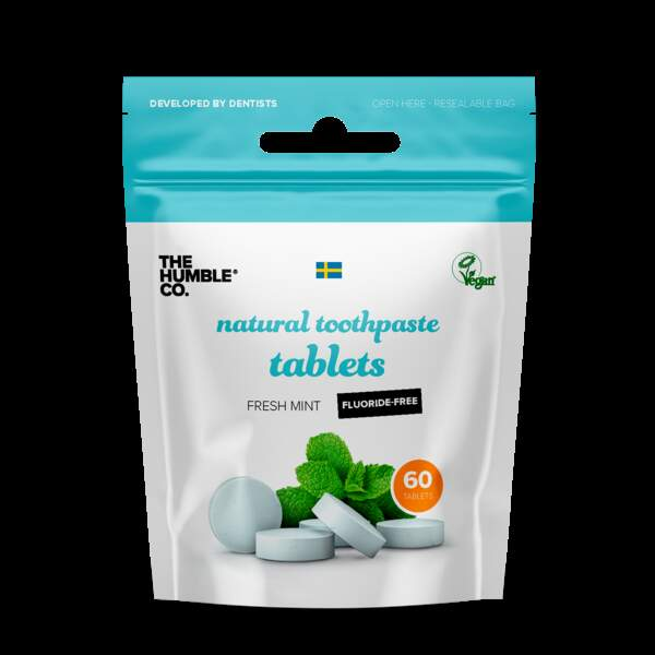 Dentifrice solide, The Humble Co, 4,99€