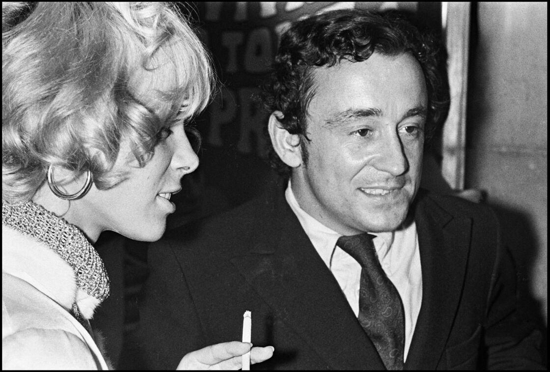 Louis Malle en 1967, aux côtés d'Anita Pallenberg