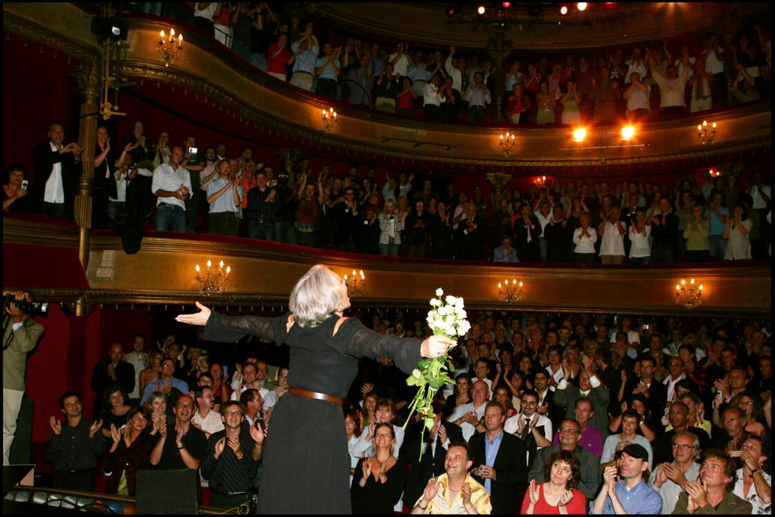 Sa dernière fois sur scène, en 2005, un triomphe !