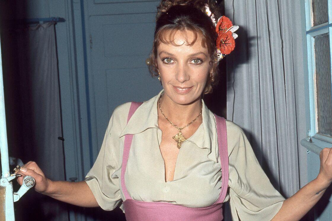 Marie Laforêt en 1987, elle a 48 ans