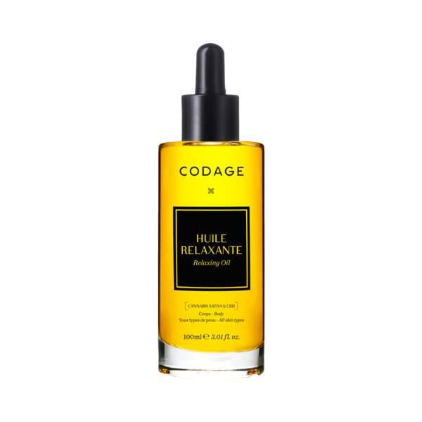 L'huile Relaxante, Codage, 45€