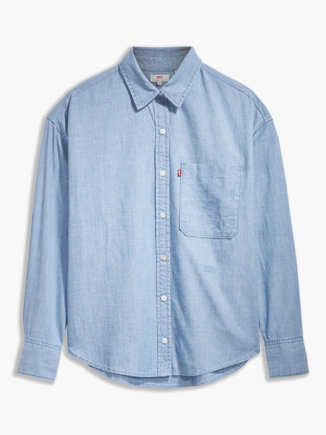 l'indémodable chemise jean de la collection Unlabeled de Levi's (69 €).
