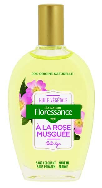 Huile à la Rose Musquée, Floressance, 9,50€