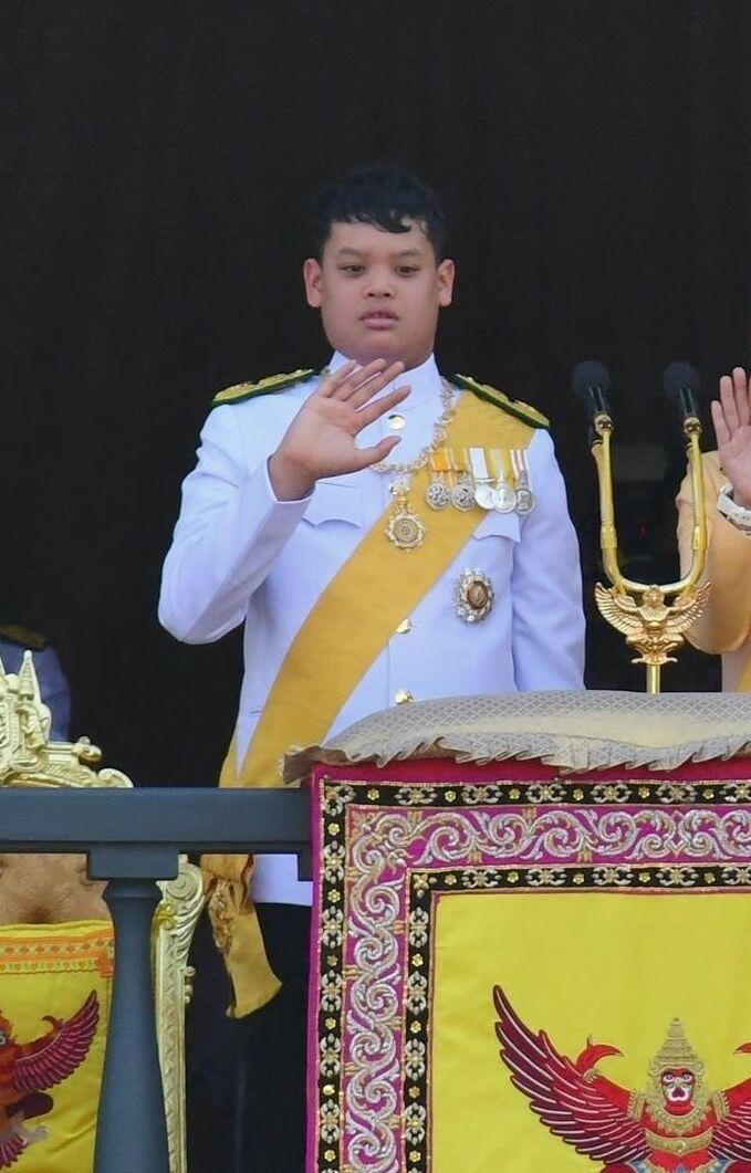 Le prince Dipangkorn