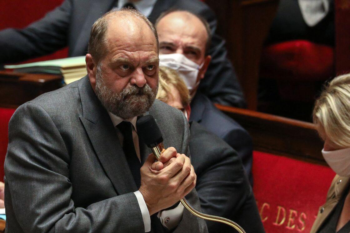 Éric Dupond-Moretti, Garde des Sceaux, ministre de la Justice - Séance de questions au gouvernement à l'assemblée nationale, Paris, le 6 octobre 2020.